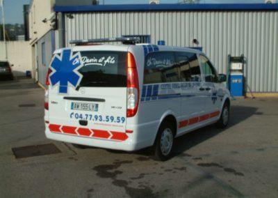 Notre flotte d'ambulances & taxis à Saint-Etienn